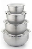 Stainless-Steel Mixing Bowl with Lid