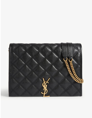 Saint Laurent Becky small leather shoulder bag