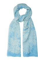Diane von Furstenberg Lepic-print silk-chiffon scarf