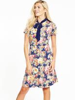 Very Bow Tie Printed Dress