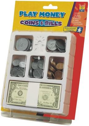Educational Insights Play Money Coins & Bills