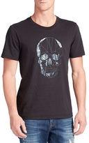 William Rast Skull Head Graphic Tee