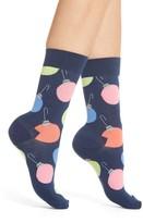 Happy Socks Women's Tree Bulb Crew Socks
