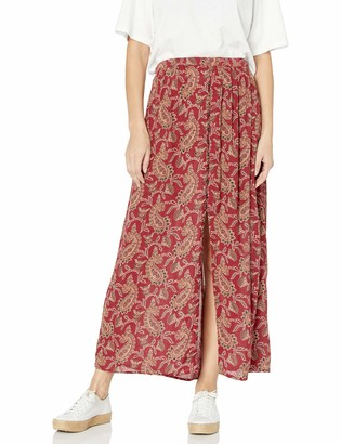 Angie Women's Printed Maxi Skirt