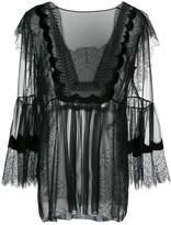Alberta Ferretti lace blouse
