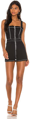superdown Kelsie Zip Up Romper