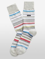 Calvin Klein Multicolored Stripe Socks