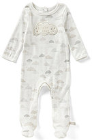 Baby Starters Newborn-9 Months Cloud-Print Footed Coverall