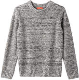 Joe Fresh Kid Boys' Knit Sweater, Grey Mix (Size L)