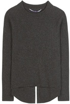 81 Hours 81hours Lavina Ribbed Merino Wool Sweater