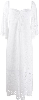 Anjuna Broderie Anglaise Maxi Dress