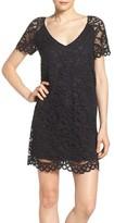 BB Dakota Women's Rene Corded Lace Shift Dress