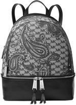 MICHAEL Michael Kors Studio Paisley Rhea Zip Medium Backpack