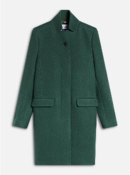 Closed Virgin Wool & Cashmere Pure Pori Coat - wool | Cashemire | green | S - Green/Green