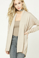 Forever 21 FOREVER 21+ Open-Front Cardigan