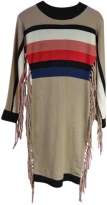 JC de CASTELBAJAC Beige Wool Dresses