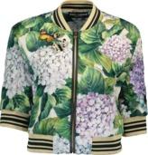 Dolce & Gabbana Shrunken Bomber Jacket
