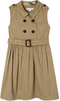 Burberry Iliana cotton trench dress 4-14 years