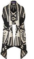 Ralph Lauren Southwestern Silk-Blend Poncho
