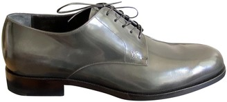 Louis Vuitton Anthracite Leather Lace ups