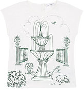Dolce & Gabbana Garden-Graphic T-Shirt-WHITE