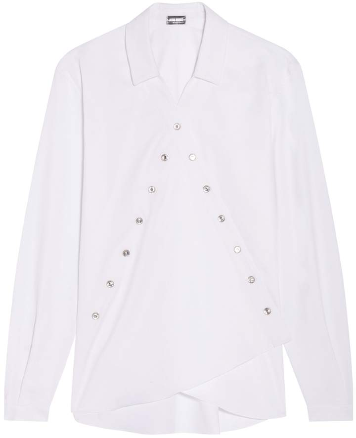 Alexis Mabille Rhinestone Shirt