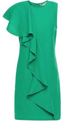Vanessa Bruno Lizie Ruffled Crepe Mini Dress