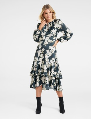 Ever New Inessa Tiered Midi Dress