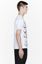 Comme des Garcons White Mickey Mouse Character Design t-shirt