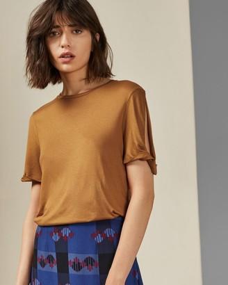 Ted Baker Twist Sleeve T-shirt