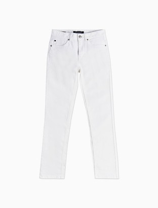 Calvin Klein Big Boys Skinny Fit Mid Blue Jeans