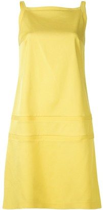 Paule Ka Strass Detail Ottoman Stretch Shift Dress