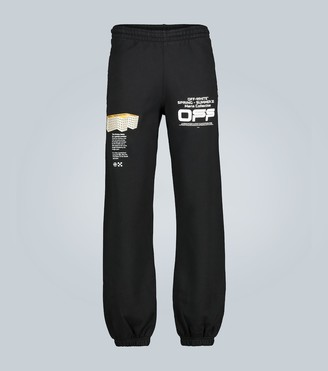Off-White Wavy Line slim-fit trackpants