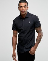 Hype Shirt With Logo In Skinny Fit