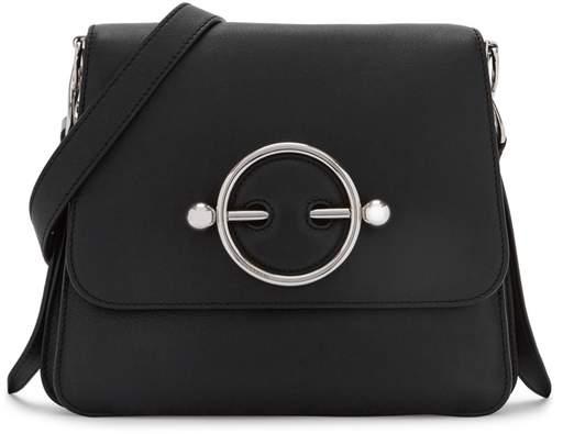 J.W.Anderson Disc Black Leather Cross-body Bag