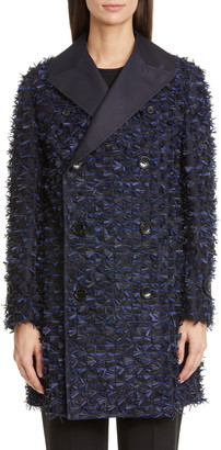 Junya Watanabe Textured Double Breasted Blazer