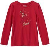 Disney Disney's Bambi Girls 4-8 Glitter Tee by Jumping Beans®