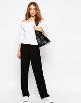 Only Mona Money Wide Leg Pant