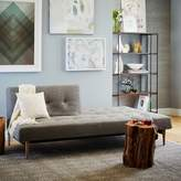 "west elm Mid-Century Full Futon Sofa (82"")"