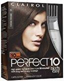 Clairol Perfect 10 by Nice 'n Easy Hair Color, 005, Medium Brown