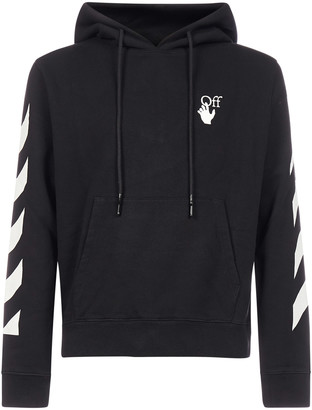 Off-White Diag Agreement Cotton Hoodie