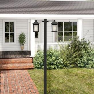 """Winston Porter Savala Outdoor 2-Light 99"""" Lamp Post"""