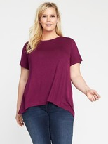 Old Navy Plus-Size Jersey Swing Top
