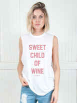 The Laundry Room Sweet Child Of Wine Muscle Tee Thrashed