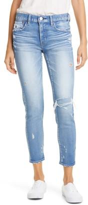 Moussy Vintage Lenwood High Waist Ankle Skinny Jeans