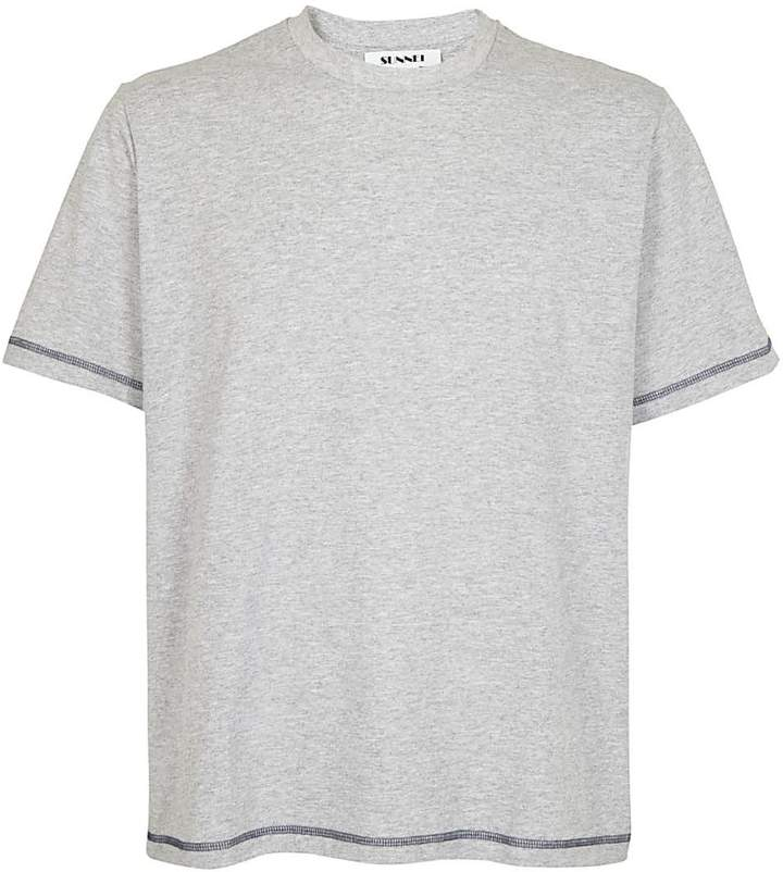 Sunnei Contrast Stitch T-shirt