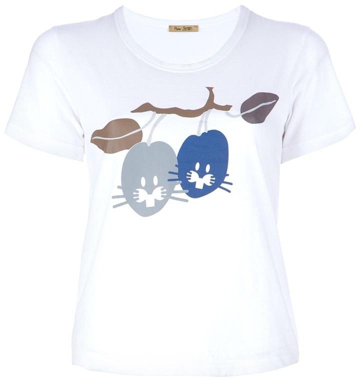 Peter Jensen 'Plum Rabbit' t-shirt