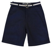 Eddie Bauer Boys' Twill Short with Belt