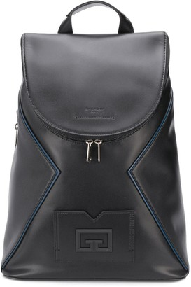Givenchy Embossed Logo Leather Backpack