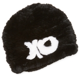 Jocelyn Knitted Rabbit Fur Hat